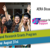 AERA Dissertation and Research Grants