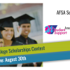 AFSA Second Chance College Scholarships Contest