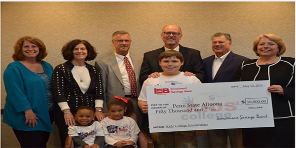 Penn State Altoona Receives $50,000 Gift from ISB