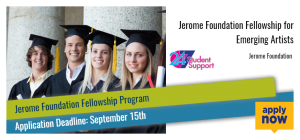 Jerome Foundation Fellowship for Emerging Artists
