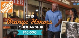 2015 Home Depot Orange Honors Contest