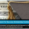DialMyCallsTweet for Success Scholarship