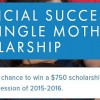 Financial Success for Single Mothers Scholarship