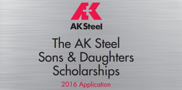 AK Steel Sons and Daughters Scholarship