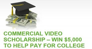 Commercial Video Scholarship