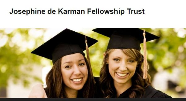 josephine de karman dissertation fellowship