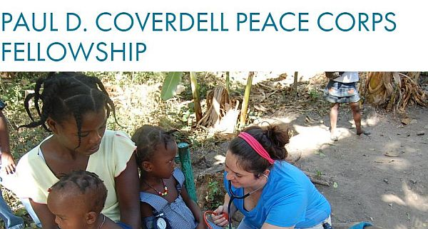 Paul D. Coverdell Peace Corps Fellowship