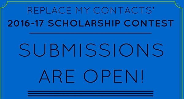 Replace My Contacts Academic Scholarship