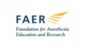 FAER Medical Student Anesthesia Research Fellowship