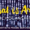 Artists Frame Service Scholarship