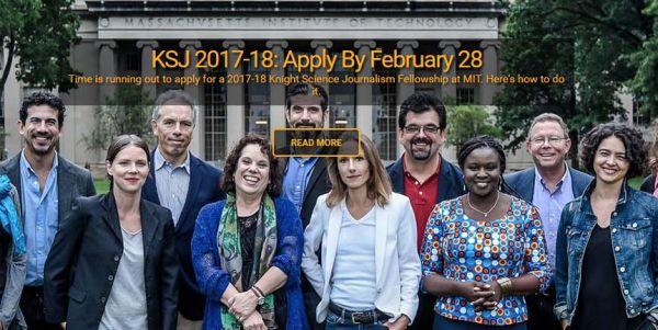 Knight Science Journalism Fellowship Program