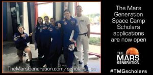 The Mars Generation Space Camp Scholarship
