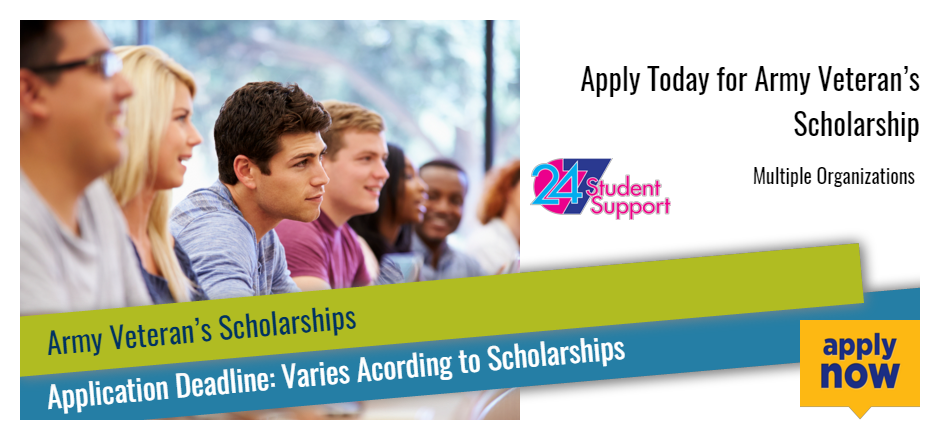 Apply Today for Army Veteran's Scholarship