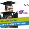 Top College Scholarships for Journalism