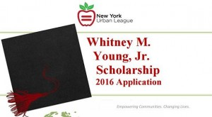 Whitney M. Young Jr. Memorial Scholarship
