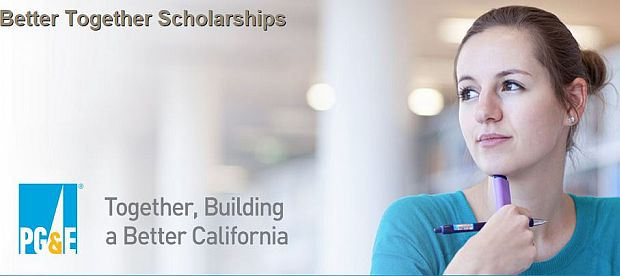PG&E Annual Better Together STEM Scholarship