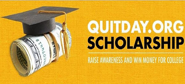 QuitDay.Org Scholarship Contest