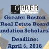 Greater Boston Real Estate Board Scholarship