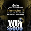 The 2016 Intermotor Import Leader Scholarship Contest