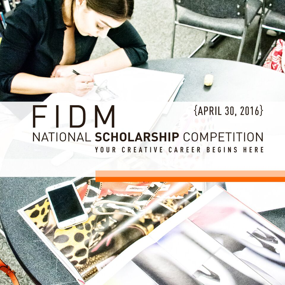 fidm national scholarship competition com 1 year full scholarship