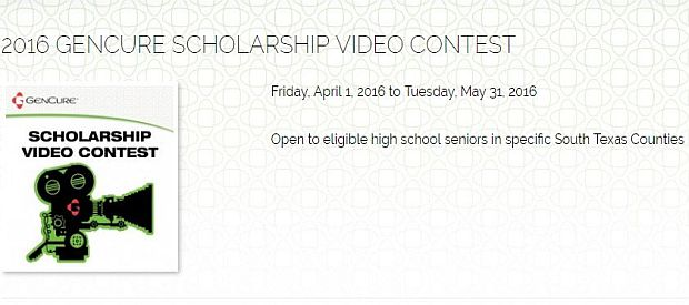 Gencure Scholarship Video Contest
