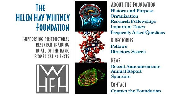HHWF Postdoctoral Research Training Fellowship