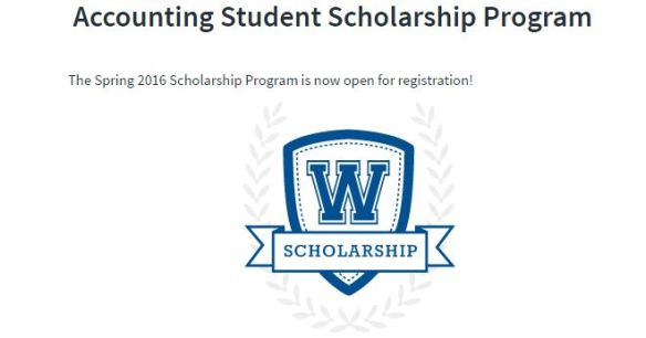 The CPAexcel Accounting Scholarship Program