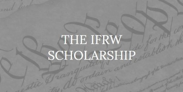 The IFRW Scholarship