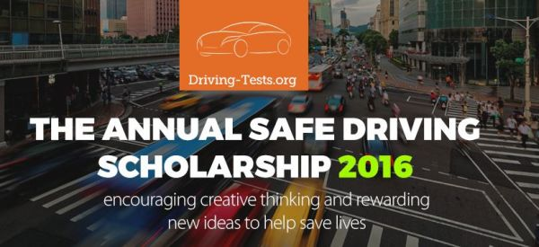 The Annual Safe Driving Scholarship