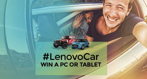 Lenovo Cars Sweepstakes Contest