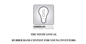 Rubber Band Contest for Young Inventors