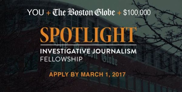 Spotlight Investigative Journalism Fellowship