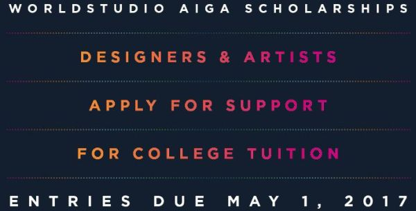 The Worldstudio AIGA Scholarship