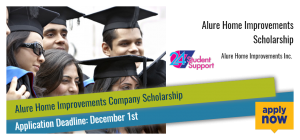 Alure Home Improvements Scholarship