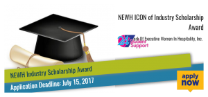 NEWH ICON of Industry Scholarship Award
