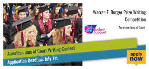 Warren E. Burger Prize Writing Competition