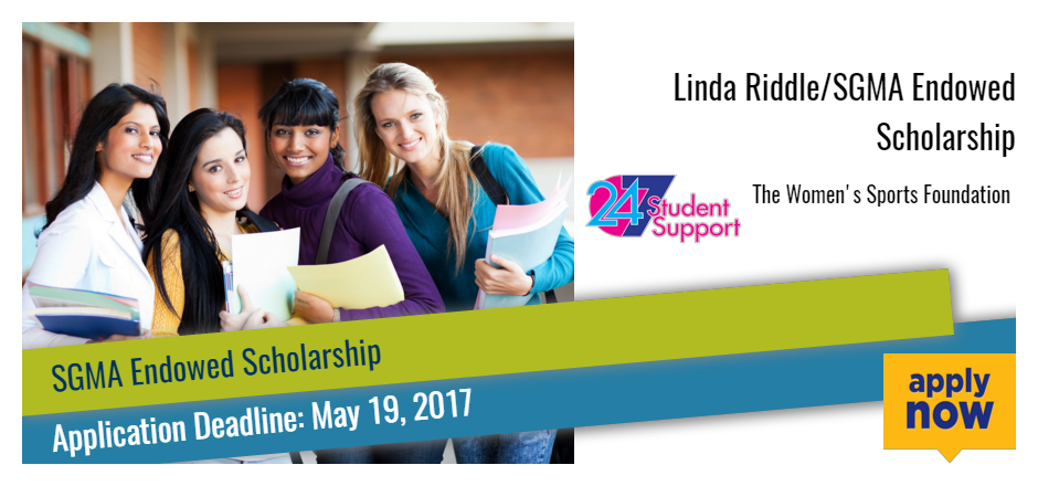 Linda Riddle/SGMA Endowed Scholarship