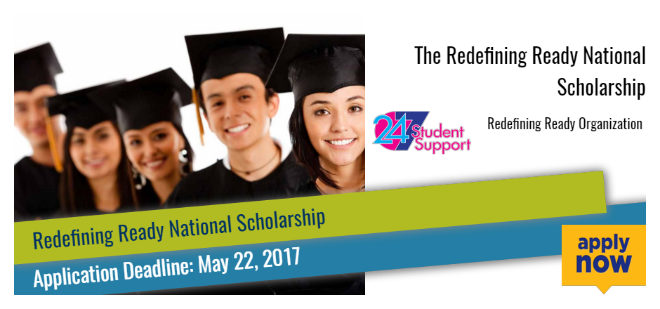 The Redefining Ready National Scholarship