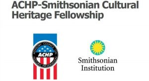 ACHP Smithsonian Cultural Heritage Fellowship