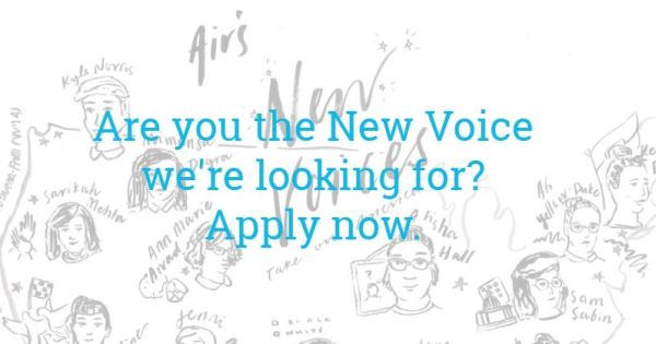 Association of Independents in Radio Voices scholarship