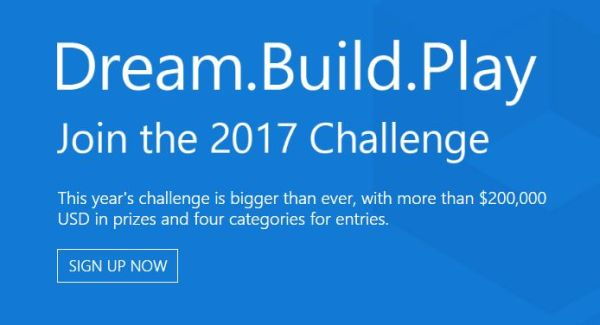 Microsoft Dream.Build.Play Challenge