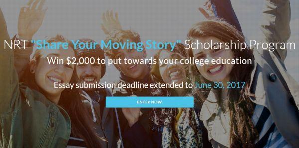 "NRT ""Share Your Moving Story"" Scholarship Program"