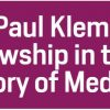 New York Academy of Medicine Library History of Medicine Fellowships
