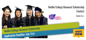Redfin College Biannual Scholarship Contest