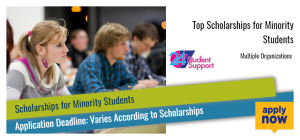 Top Scholarships for Minority Students