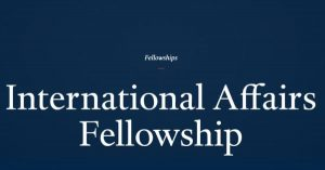 Council on Foreign Relations International Affairs Fellowship