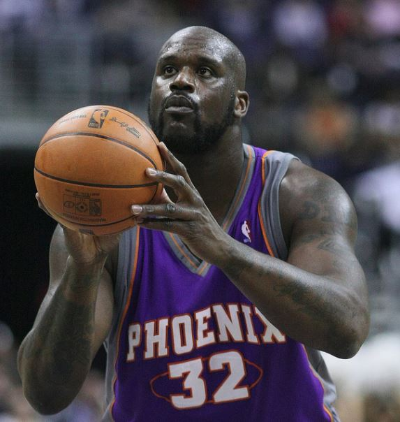 Photo of Shaquille O'Neal.