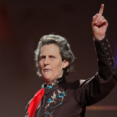 Temple Grandin, on eof many celebrities with PhDs.