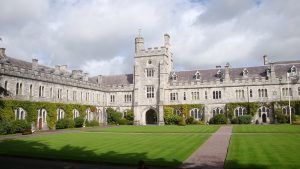difference between college and university - Cork University College: University building and grounds